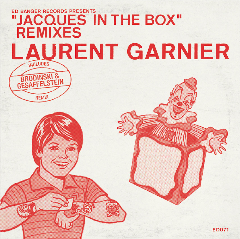 "LAURENT GARNIER ""JACQUES IN THE BOX"" REMIXES"
