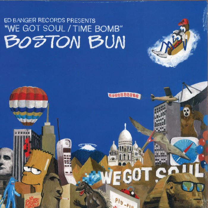 "BOSTON BUN ""WE GOT SOUL"""